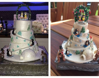Wedding Cake Replica Ornament