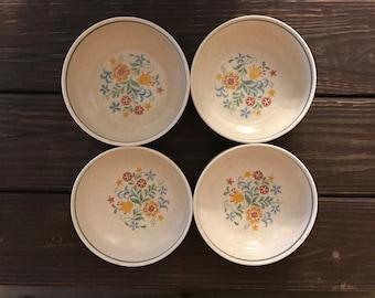 Vintage Lenox Temperware Quakertown Coupe Cereal Bowl (Set of 4)