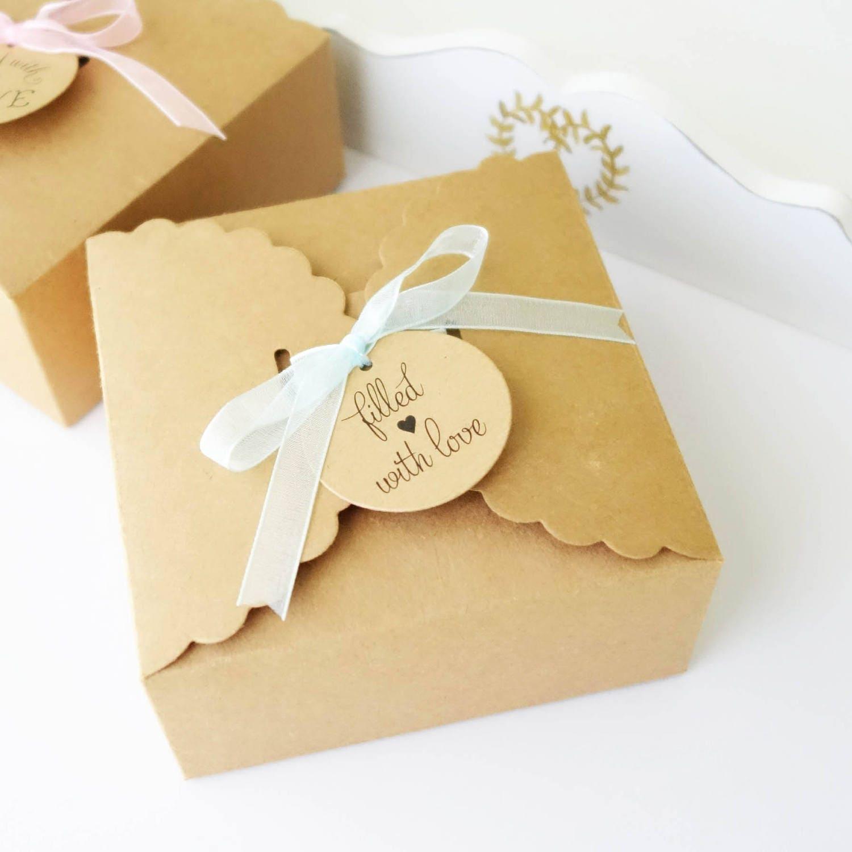 10x t boxes set personalised wedding cake slice