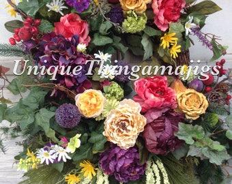 Spring Wreath, Summer Wreath, Ready Made item