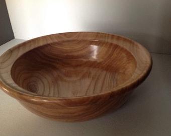 Red elm salad bowl