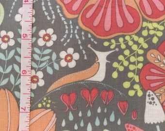 Sweet Briar Rose Gray from Haven by Stacy Peterson for Blend Fabrics