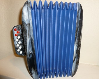 Vintage Toy Accordion / Squeeze box From The 1950's
