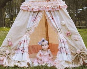 KIDS TEEPEE, play tent, childrens teepee, teepee tent, 8ft, kids tent, playhouse, play teepee, kids teepee tent, kids play tent