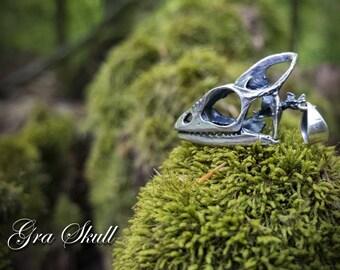 Small chameleon skukl pendant