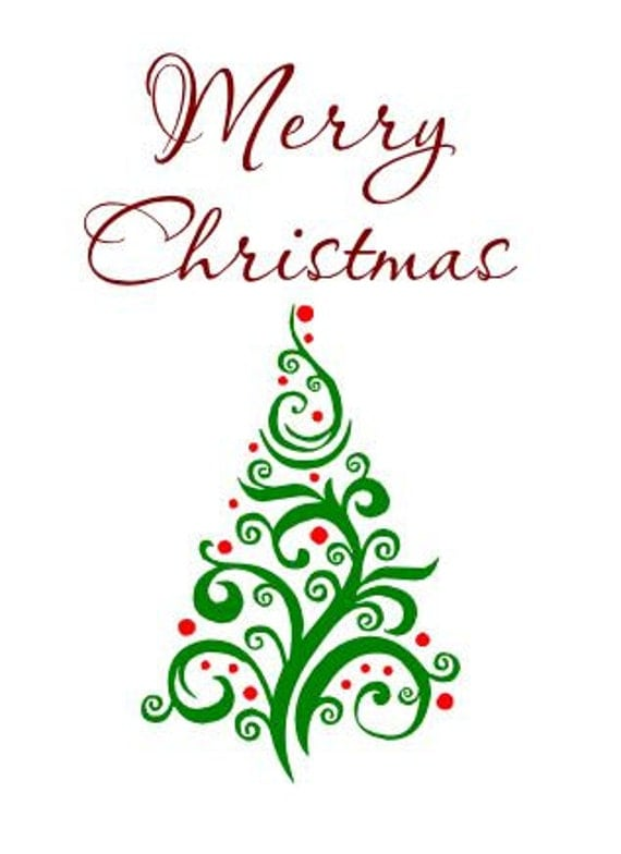 Download Merry Christmas Tree SVG, Merry Christmas, HTV, Vinyl ...