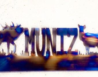 "24"" Wildlife Scene"