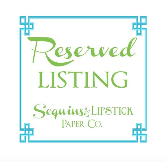 sequins  u0026 lipstick paper company
