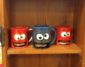 Monster Cookie Mugs