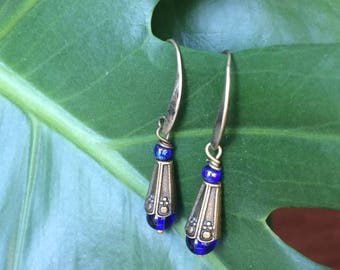 Earrings blue dream