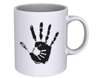 Hand of Mother and Baby - Coffee Mug - Best Gift !!!