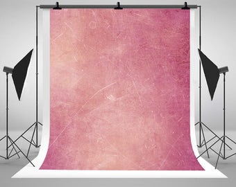 Pink Solid Color Photography Backdrops Newborn Baby Texture Photo Backgrounds for Children Studio Props