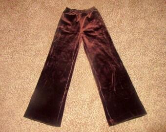 Vintage High Waist Flare Pants Sz S
