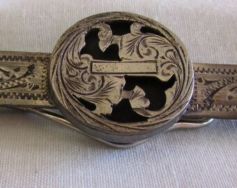 Vintage Sterling Silver Tie Bar from Mexico