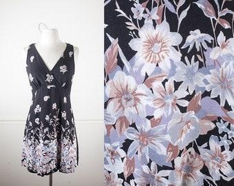 90s Grunge Dress, Babydoll Dress, 90s Dress, Soft Grunge Clothing, Ditsy Floral Print Mini Dress, Pastel Grunge Festival Dress, Boho Dress