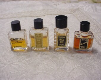 CHOICE of ONE ~ Mini Vintage FRENCH Miniature Perfume Bottle