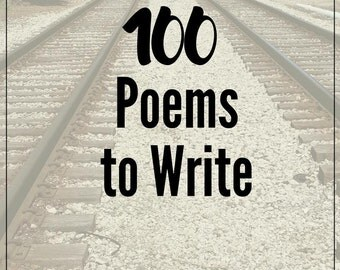 100 PRINTABLE POEMS to Write: Creative Writing Journal, Reproducible Notebook for Writers, Small Groupers, Teachers, and WouldBe Poets, Gift