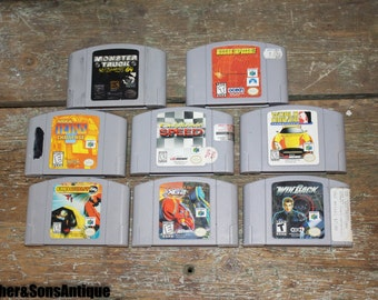 Lot of Eight Nintendo 64 Games