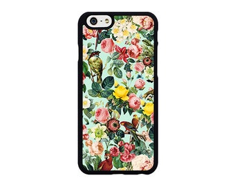 Floral and birds 3 Phone Case