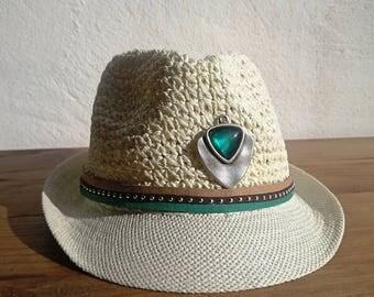 Fashion accessories, fedora hat, green hat, fashion trends, women fedora hat, summer hats, summer outfits, straw hat, womens hats