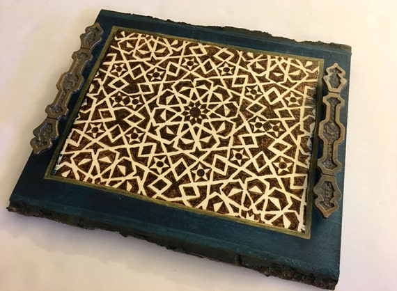 Decorative tray coaster tray coffee table tray wooden Decorative trays for coffee table