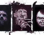 Horror Film Tribute Plakmounted Poster