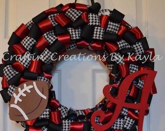 Alabama Ribbon Wreath