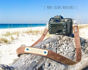 Custom Camera Strap, Leather Camera Strap, Photography Strap, Nikon strap, Canon strap, Sony Camera Strap
