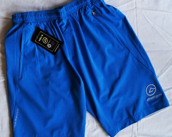Athleticguru Sport Shorts with different colored logos