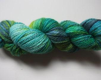 Aran - 100% British Bluefaced Leicester (superwash) yarn - Spring Shoots