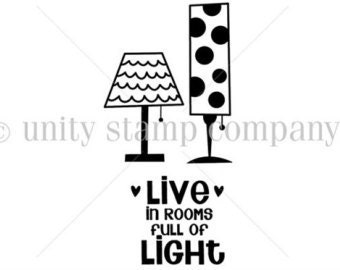 Unity Stamps, Live in Light stamps