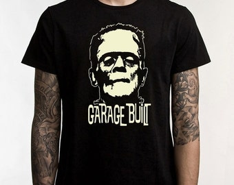 ON SALE Rare Kustom Kulture Chopper Bobber Gasser Hotrod Garage Built T-Shirt  s/xxxl Nice!