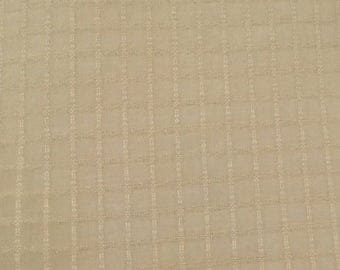 sheer fabric soft gold yellow squares drapery fabric by the yard