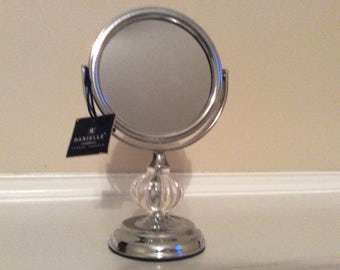 Nice! Danielle Creations Small Standing Adjustable Mirror with tag.