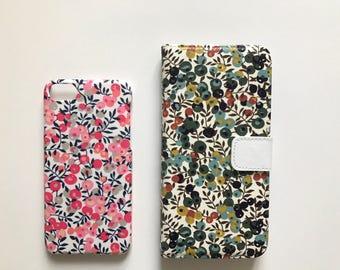 Liberty fabric iPhone & Samsung Galaxy case - Wiltshire