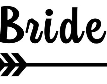 Bride Tribe Iron On Etsy Nz