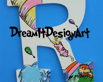 Seussical Alphabet Wall Letter R