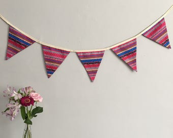 Aztec Bunting Party Wedding Event Home Decor