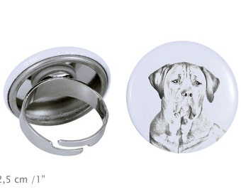 Ring with a dog- Tosa