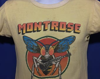 Vintage early 1970s Montrose t shirt rare *XS/S