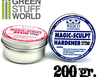 MAGIC SCULPT 200gr - Modeller Epoxy Putty Clay for modelling sculpting craft and restoration
