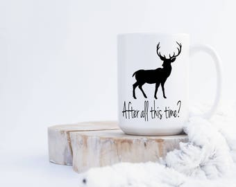 Harry Potter After All this Time? Stag/Buck Coffee Mug