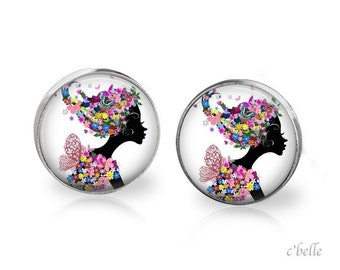 Earrings floral 3