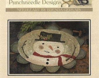 """WITH THY NEEDLE & Thread """"Holly Jolly Frosty"""" 