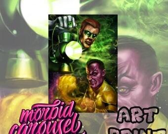 Green Lantern A3 Giclee Art Print