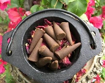 Cinnamon Incense Cones ~ Pack of 10