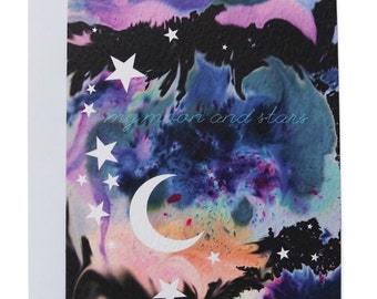 My Moon and Stars Card