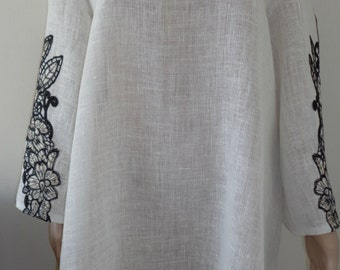 Women's linen dress