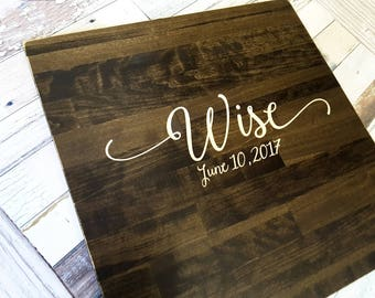 Wedding Guest Book Alternative - Rustic Wedding Decor - Guest Book Wood Sign - Wedding Guest Sign In