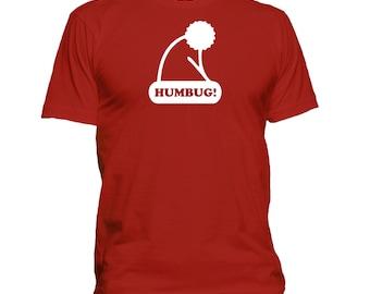 Humbug! Holiday. Premium quality. Ringspun soft.